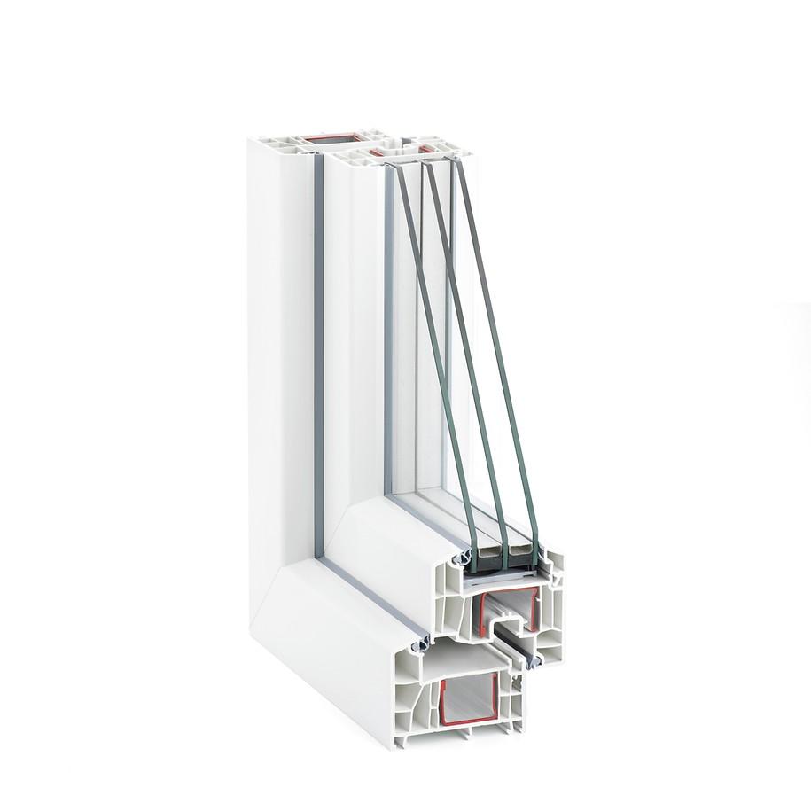 Sistem cu adâncimea constructivă de 86 mm pentru ferestre eficiente energetic conform celor mai noi standarde